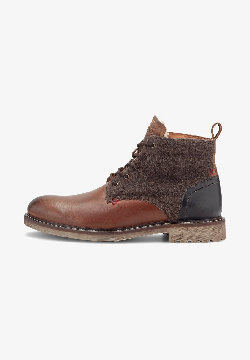 Coolway Freestyle - Lace-up ankle boots - mittelbraun
