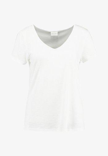 VINOEL  - Basic T-shirt - cloud dancer