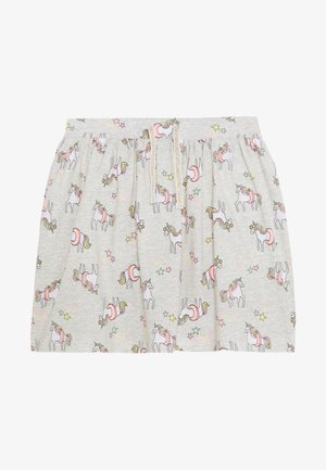 BOTTOMS - Mini skirt - light grey