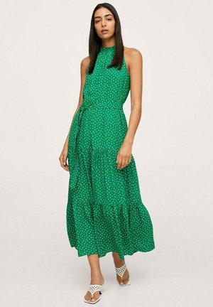 HALTER - Maxi dress - groen