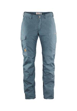 KARLA PRO ZIP - Outdoor trousers - rauchblau (304)