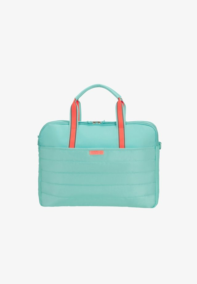 UPTOWN VIBES - Laptop bag - mint/peach
