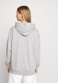adidas Originals - TREFOIL ESSENTIALS HOODED - Mikina s kapucí - medium grey heather - 2