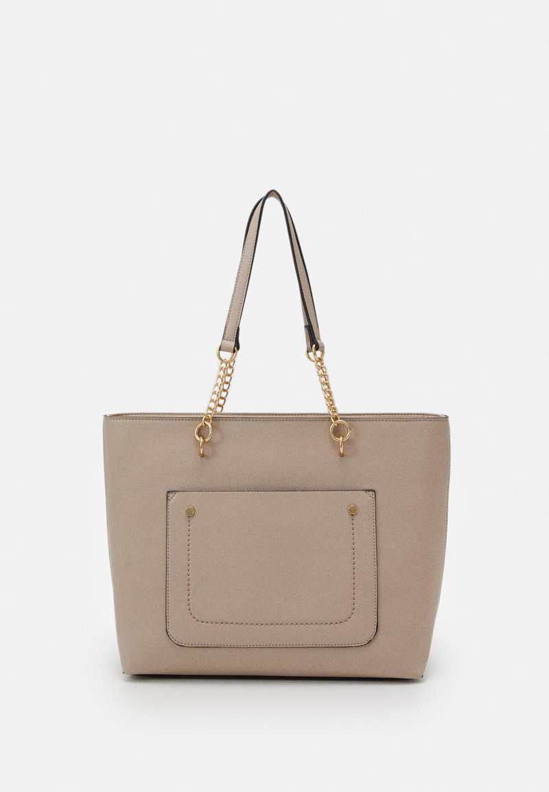 Dorothy Perkins - SLIP POCKET CHAIN HANDLE - Handbag - nude
