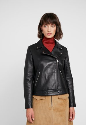 MAEVE JACKET - Leather jacket - black