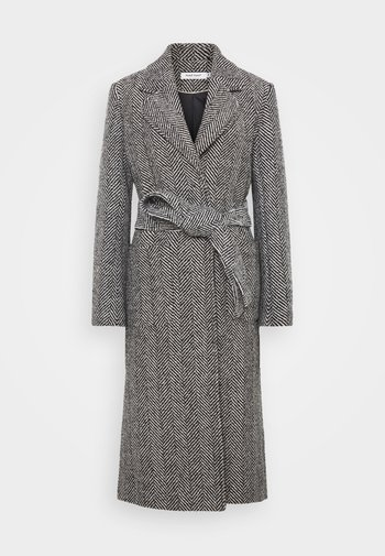 Klasický kabát - ahello noir/black