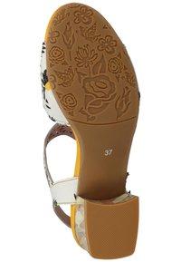 LAURA VITA - Sandals - blanc - 4