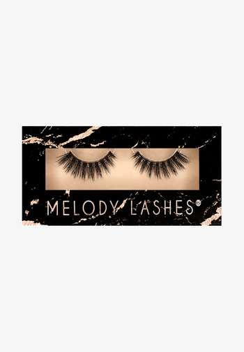 CHEERLEADER - False eyelashes - black
