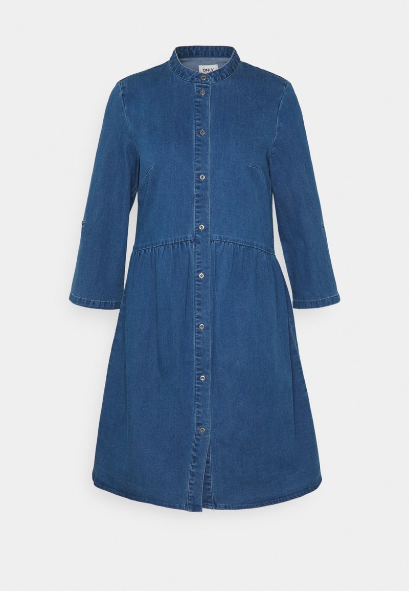 ONLY Tall - ONLCHICAGO DRESS - Denim dress - medium blue denim