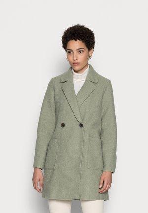 EASY BOUCLE COAT - Classic coat - herbal tea green