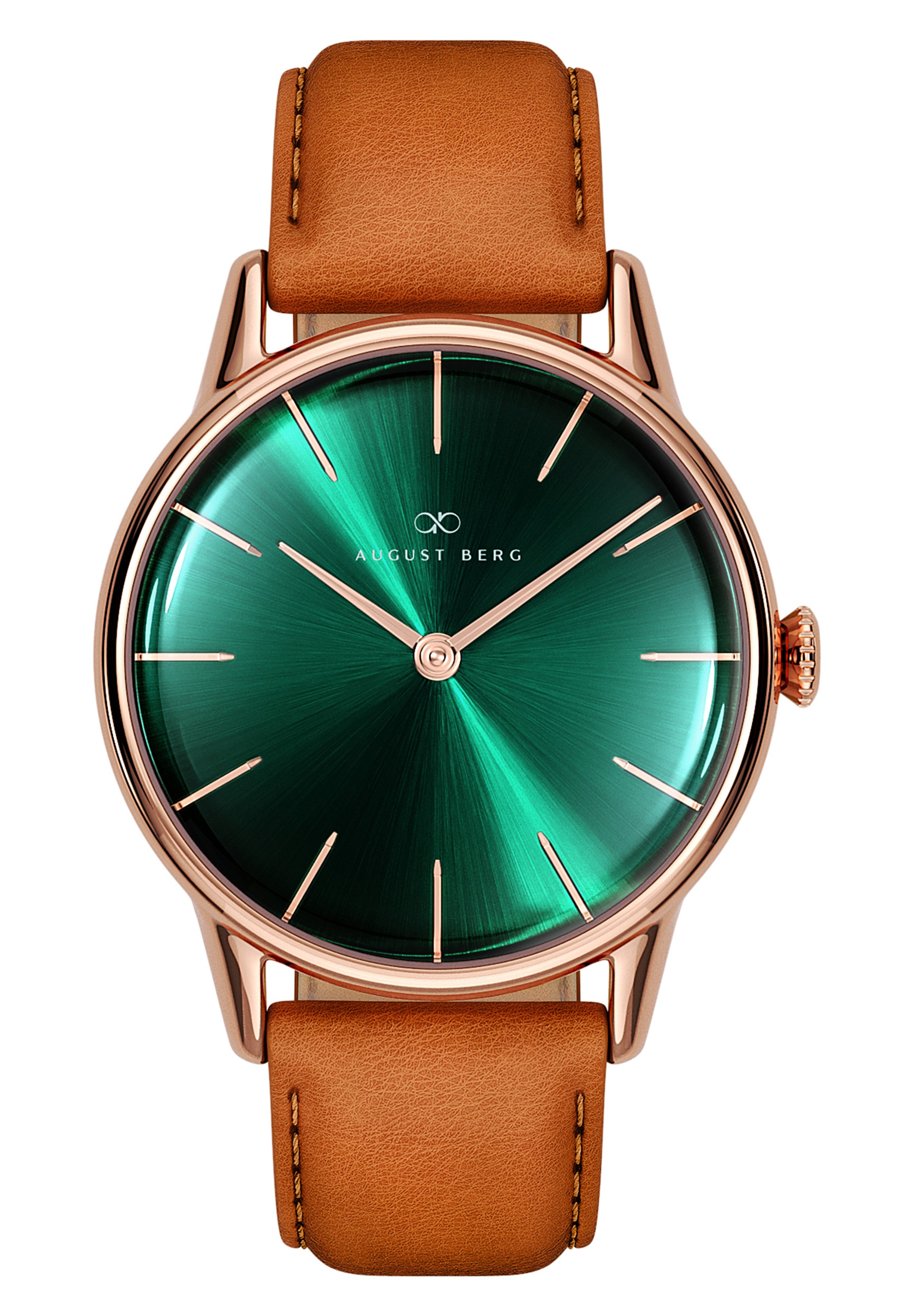 Homme UHR SERENITY GREENHILL LEATHER 32MM - Montre