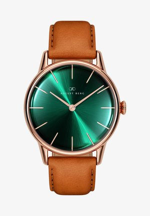 UHR SERENITY GREENHILL LEATHER 32MM - Watch - sunray green