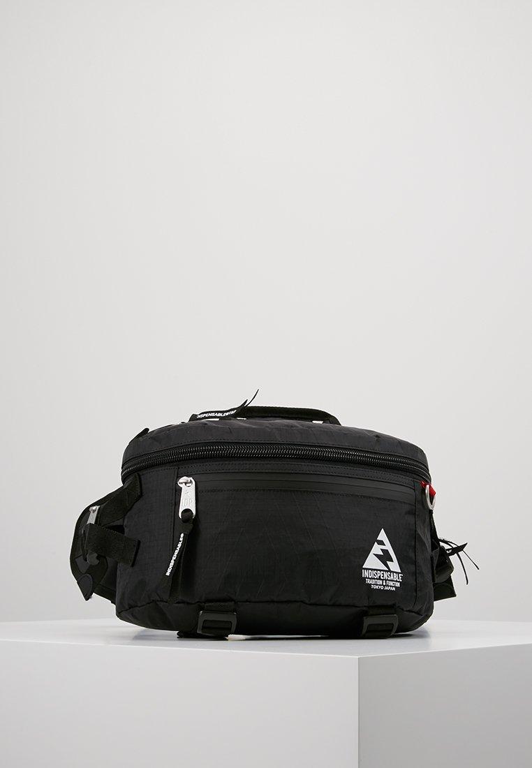 Indispensable - WAIST BAG ATTACH - Vyölaukku - black