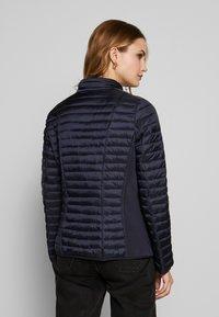 Barbara Lebek - STEPP MIT KAPUZE - Light jacket - navy - 2