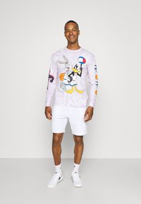 Tommy Jeans - ABO TJU X SPACE JAM TEE UNISEX - Long sleeved top - lilac dawn - 1