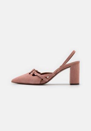 SLINGBACK - Classic heels - ancient pink