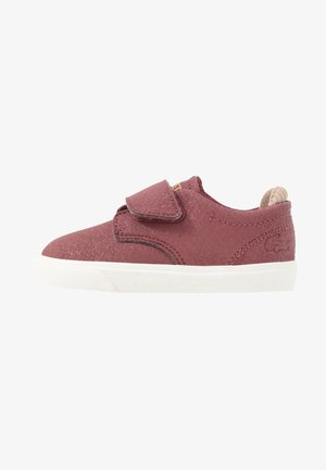 ESPARRE - Trainers - dark red/offwhite
