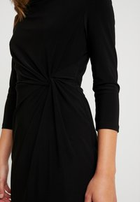 Lauren Ralph Lauren Petite - TRAVA 3/4 SLEEVE DAY DRESS - Etuikjoler - black - 6