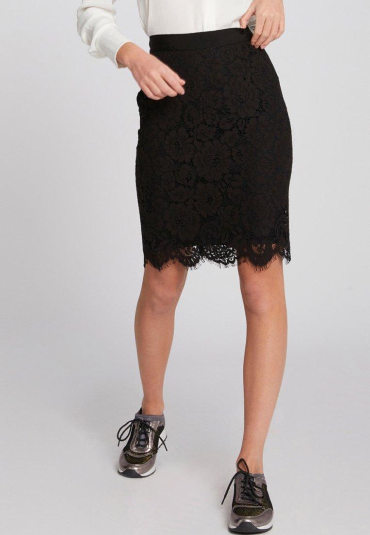 Morgan - Pencil skirt - black