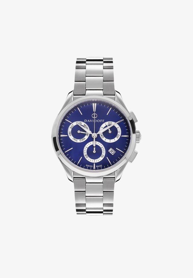 ESSENTIALS  - Chronograaf - blau-silber
