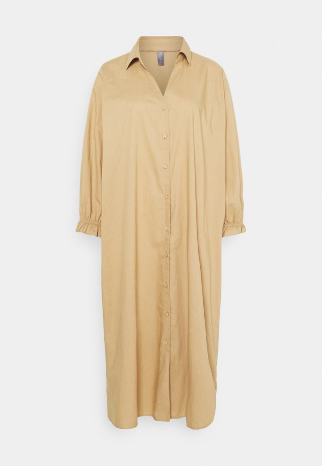 OLENA DRESS - Shirt dress - tannin