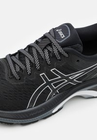 ASICS - GEL-KAYANO 27 - Stabilty running shoes - black/pure silver - 5