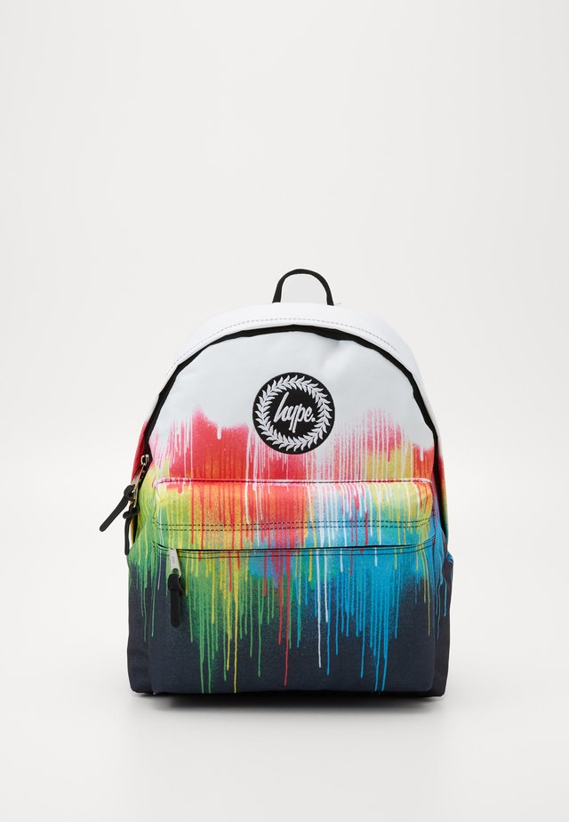 BACKPACK MULTI DRIPS - Ryggsekk - white