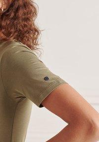 Superdry - Jersey dress - moss khaki - 1