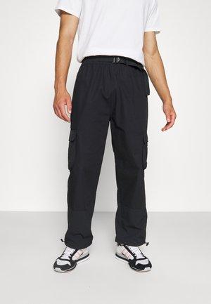 CARGO PANT UNISEX - Cargo trousers - black