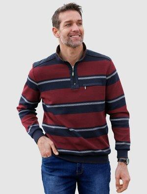 Polo shirt - marineblau,bordeaux