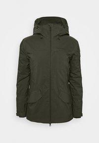 Peak Performance - MAROON LONG JACKET - Ski jacket - coniferous green - 5