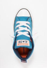Converse - CHUCK TAYLOR ALL STAR STREET - Zapatillas altas - egyptian blue/bold mandarin - 1