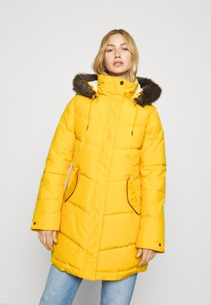 ELLIE - Winter coat - golden rod