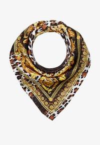 Versace - FOULARD - CARRE - Foulard - marrone oro bianco - 1