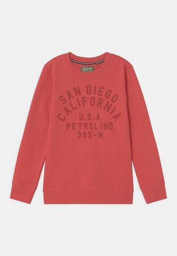 Sweatshirt - imperial red