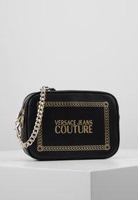 Versace Jeans Couture - Borsa a tracolla - black/gold - 0