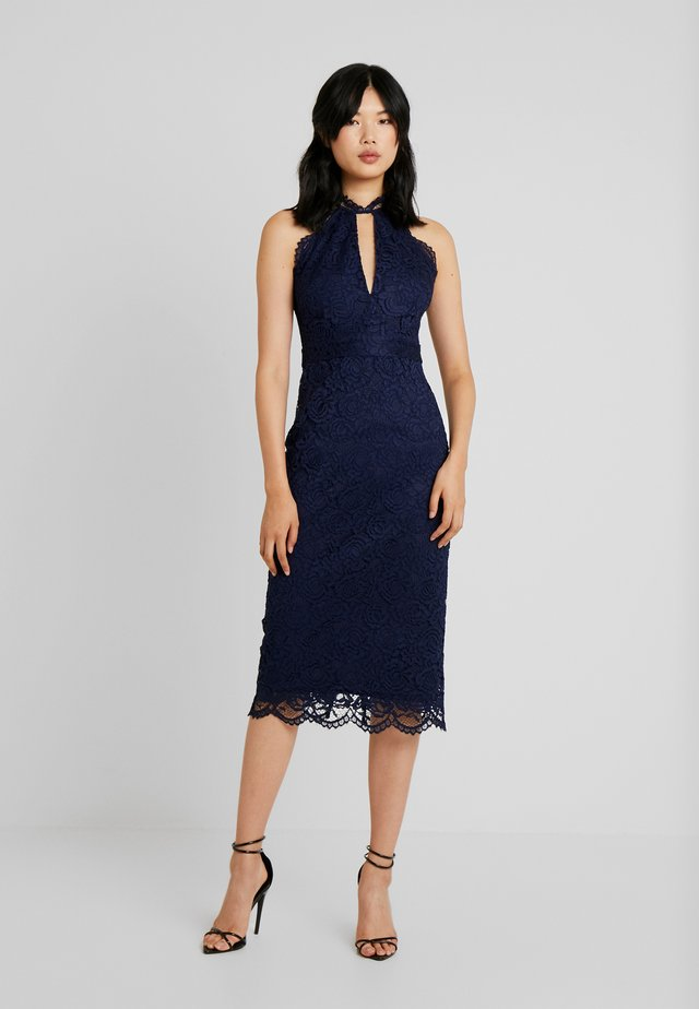 MEDINA MIDI - Cocktail dress / Party dress - navy