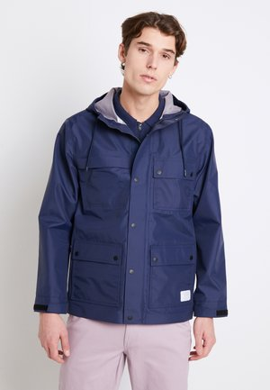 MN DRILL CHORE  3L - Waterproof jacket - dress blues