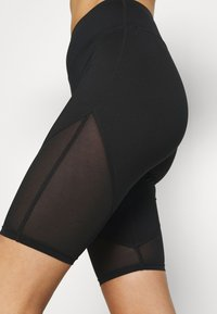 Wolf & Whistle - CYCLING SHORTS WITH PANEL CORE - Tights - black - 5