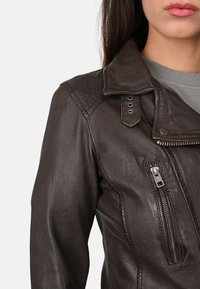 Oakwood - Leather jacket - light brown - 3