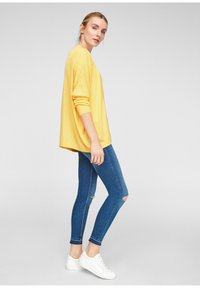 QS by s.Oliver - Cardigan - yellow melange - 1