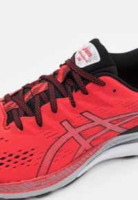ASICS - GEL KAYANO 28 - Stabilty running shoes - electric red/black - 5