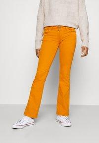 Pepe Jeans - NEW PIMLICO - Trousers - orange - 0