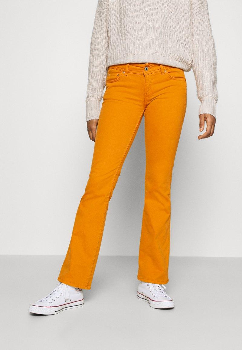 Pepe Jeans - NEW PIMLICO - Trousers - orange