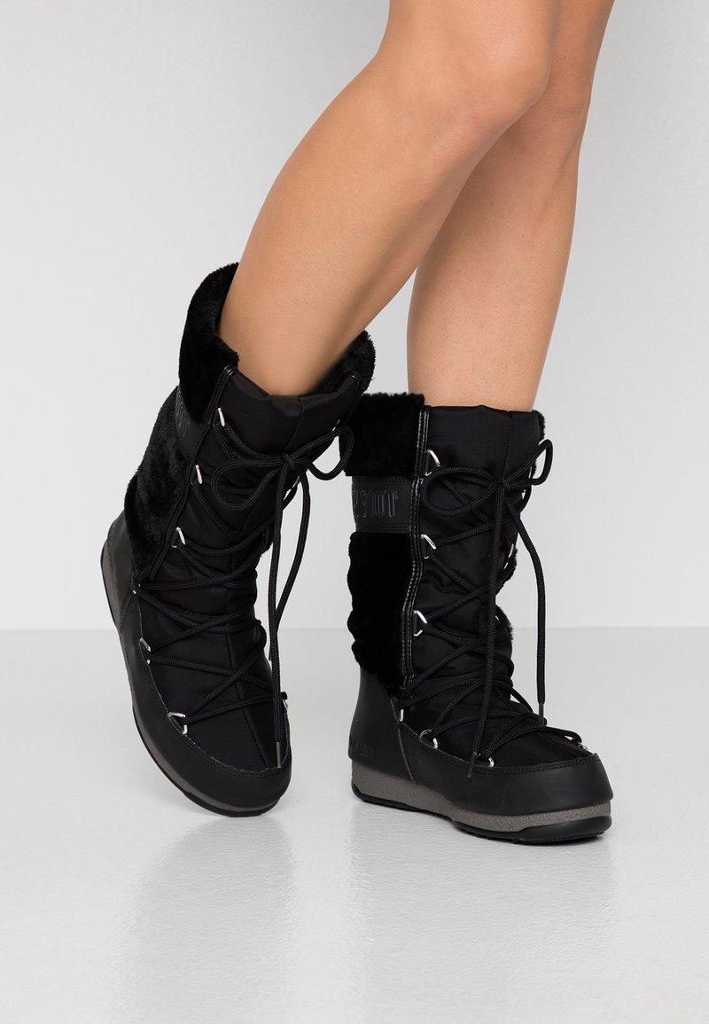 Moon Boot - MONACO WP - Vinterstøvler - black