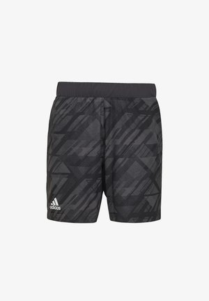ERGO TENNIS PRINTED SHORTS AEROREADY - Sports shorts - black