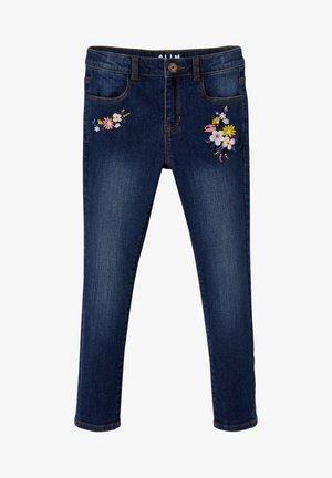 WATERLESS - Slim fit jeans - dark blue
