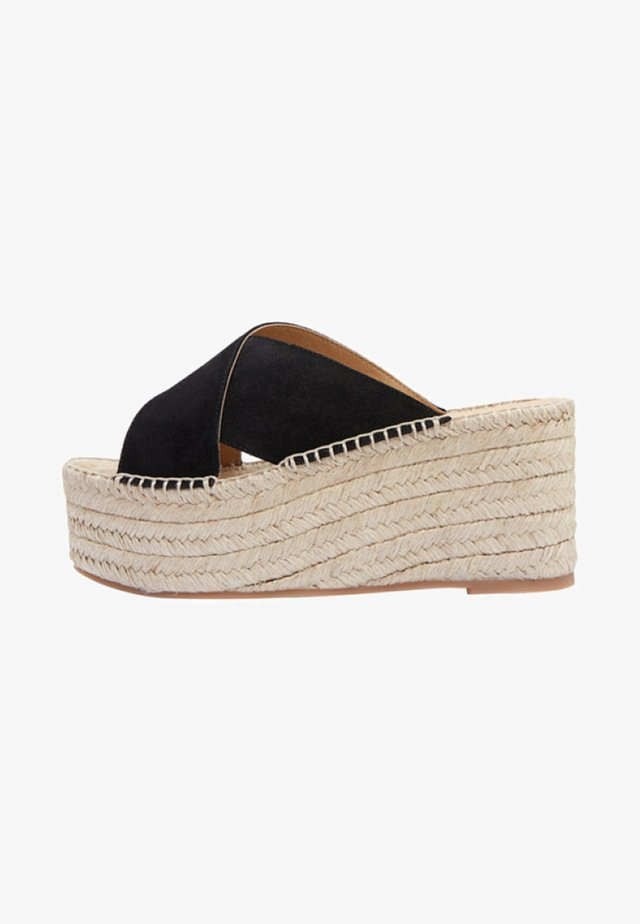 IBIA - Heeled mules - black