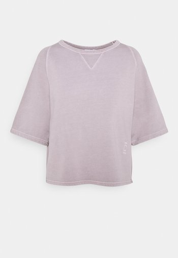 WOMEN - T-shirts med print - dark mauve
