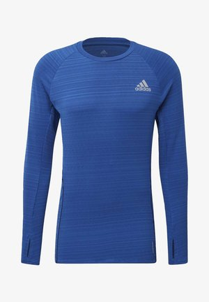 RUNNER LONG-SLEEVE TOP - Maglietta a manica lunga - blue
